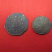 RARE NEW HOPE PLANTATION TOKENS